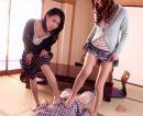 【人妻おまんこ動画】下着泥棒を見つけた人妻が犯人を追い詰め自宅へ誘導…パンスト着衣セックスでお仕置きww