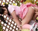 【JCおまんこ動画】発育が良い娘の生足太ももに発情した父親…遊園地という屋外で青姦セックスww