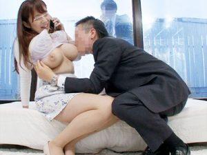 【人妻中出しおまんこ動画】夫と電話しながら上司と中出しセックス出来たら100万円プレゼントに出演する主婦ww