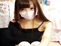 【ライブチャット動画】アイドルグループに所属しててもおかしくないレベルの素人女子のライブ配信ww