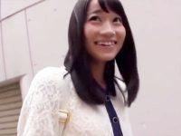 【女子大生おまんこ動画】元AKB48の大島優子に似た女子大生をなんとか口説き落としてラブホで生中出しww