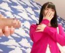【人妻中出しおまんこ動画】カメラ前で緊張する若妻が初めて見るデカチンを味わって中出しされる瞬間ww