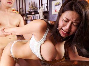 【爆乳おまんこ動画】ニットセーターで着衣巨乳になったKカップ女性が人生で最高と言ったセックスがコレww
